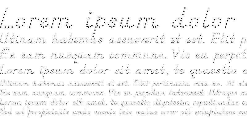 Sample of DN Manuscript Dots