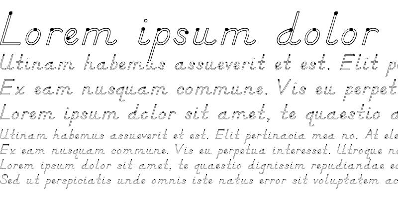 Sample of DN Manuscript Outlines Regular
