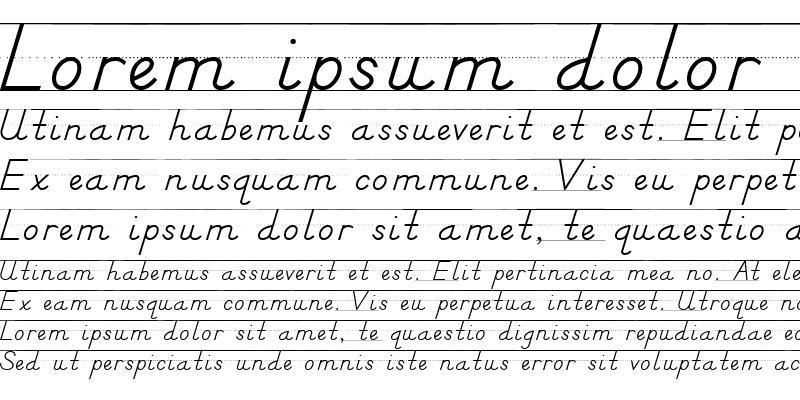 Sample of DN Manuscript with Rules Regular