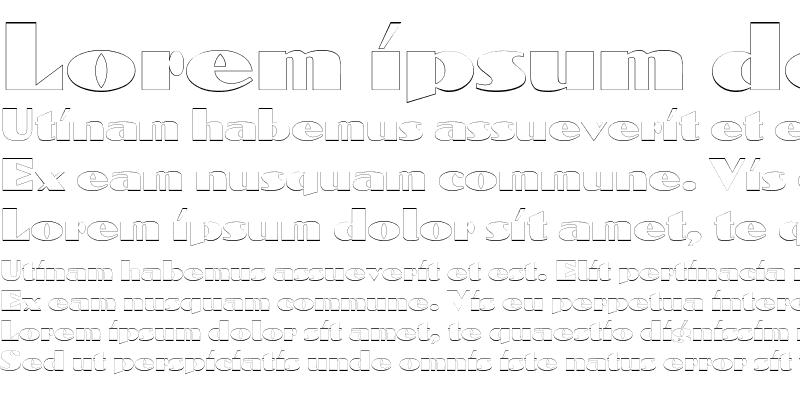 Sample of DomenicOutline