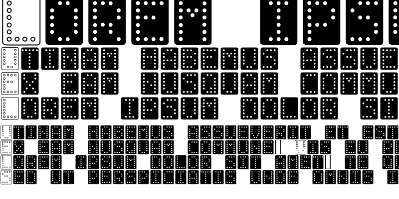 Sample of Domino bred