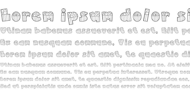 Sample of Doodle American