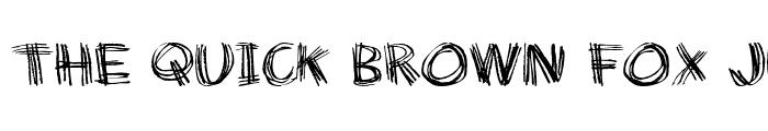 Preview of Doodle Chicken Scratch Regular