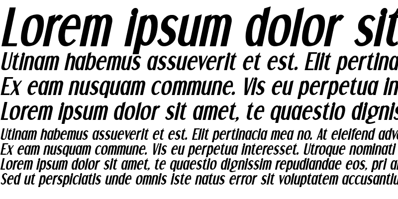 Sample of Dream Orphans Bold Italic