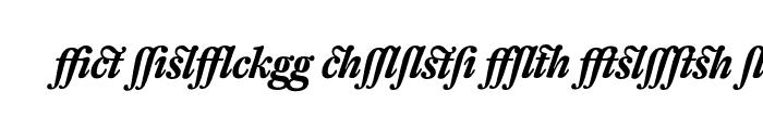 Preview of DTL Fleischmann T Alt Bold Italic