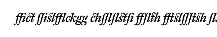 Preview of DTL Fleischmann T Alt Medium Italic