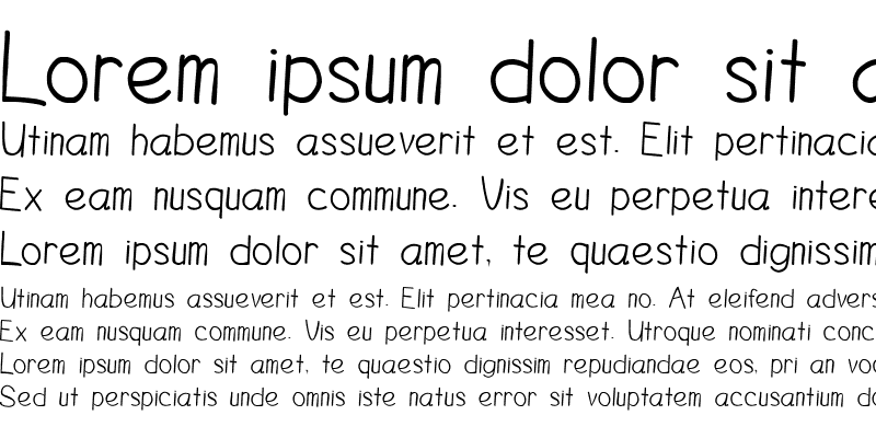 Sample of DuncanItalic Italic