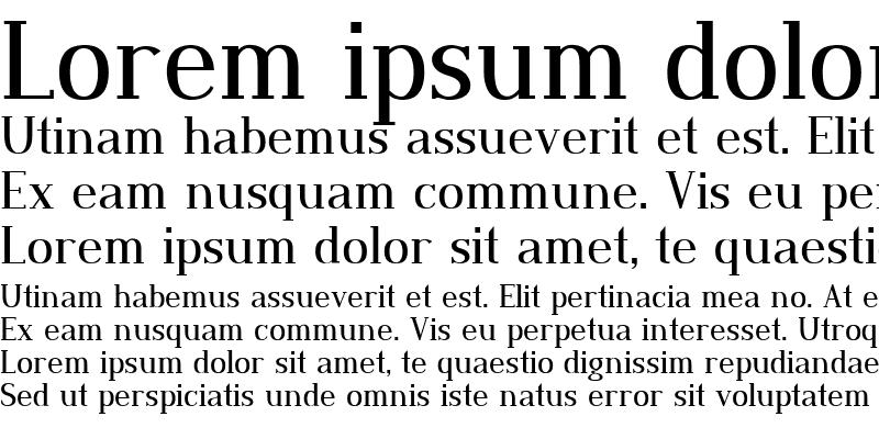 Sample of Dustismo Roman Regular