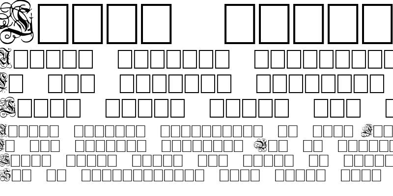 Sample of Dutch Initials