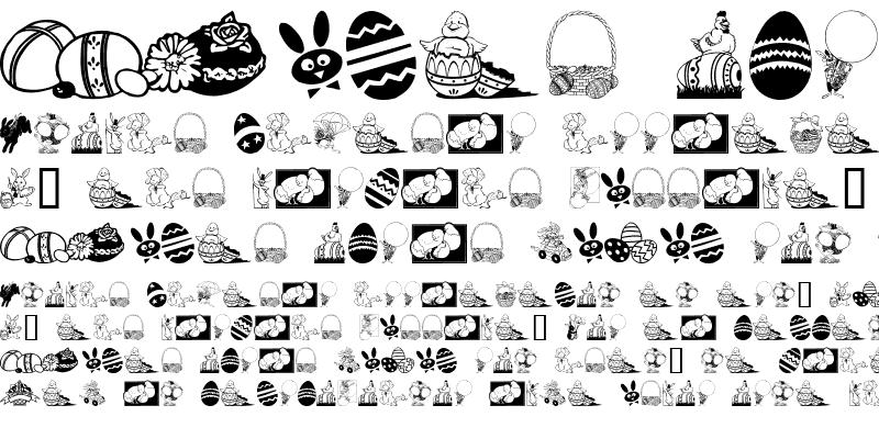 Sample of Easter art