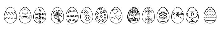 Preview of Easter eggs ST Regular