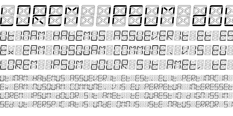 Sample of eDisplay Demo Italic