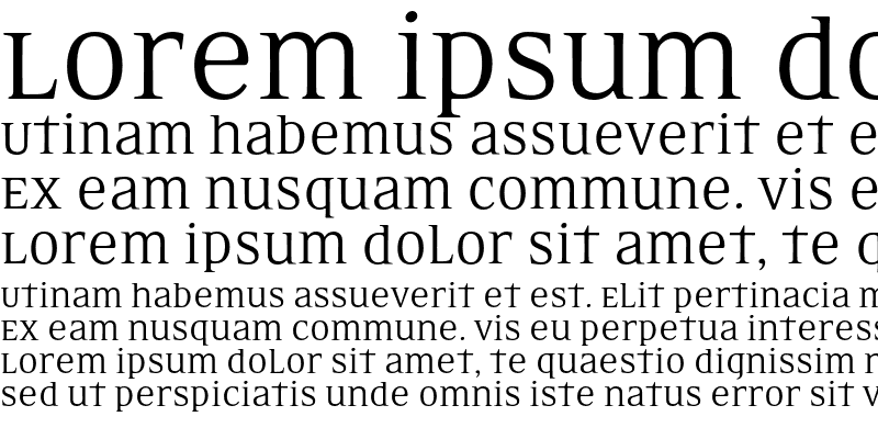 Sample of EideticNeo Omni Regular
