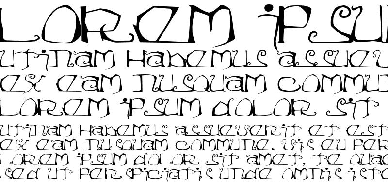 Sample of Eisregen Regular