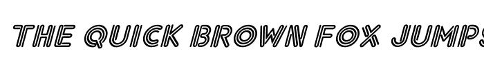 Preview of Eklektic-Normal Italic Italic
