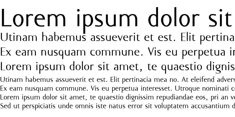 Sample of Ela Sans