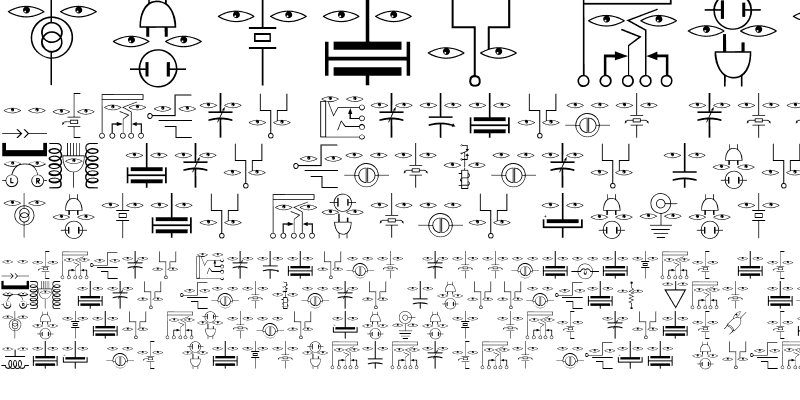 Sample of ElectronicFaces