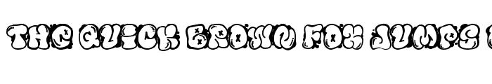 Preview of El&Font Bubble Regular