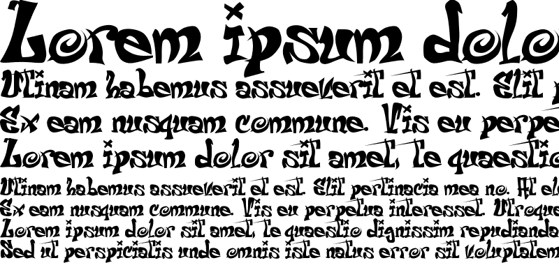 Sample of El&Font