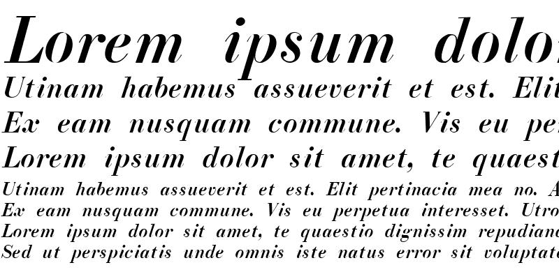 Sample of ELIZ_AZ_PS Italic