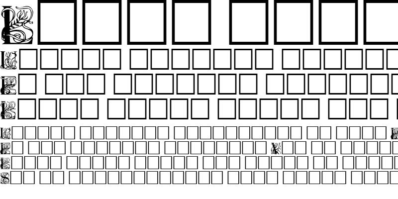 Sample of ElzevierCaps