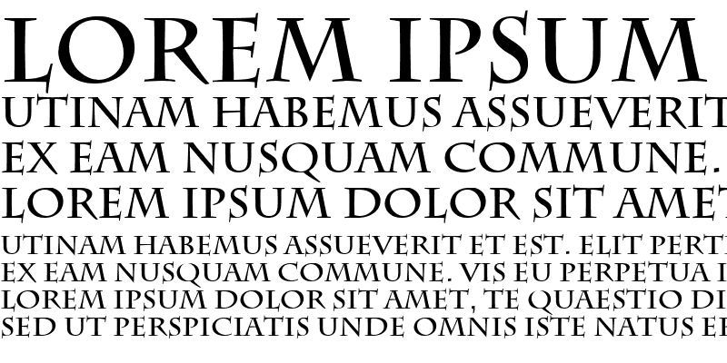 Sample of Empire Regular