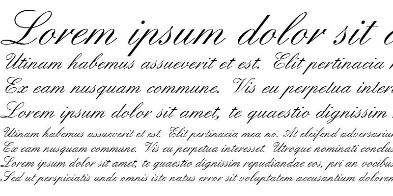 Sample of EnglischeSchT Regular