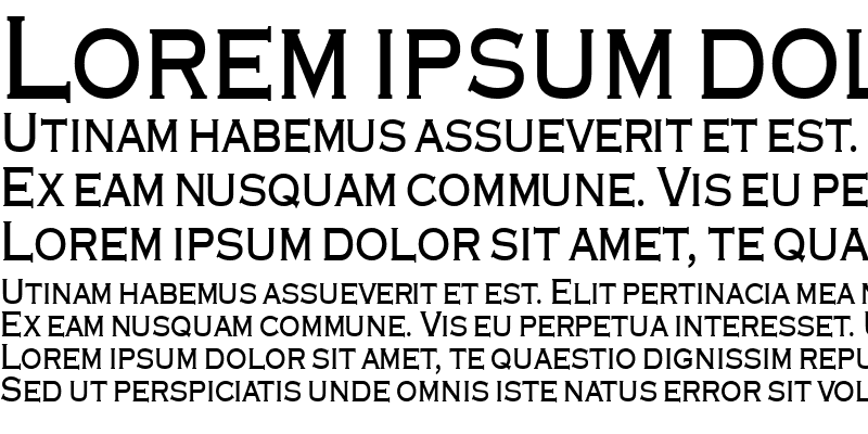 Sample of Engraver-Condensed Bold