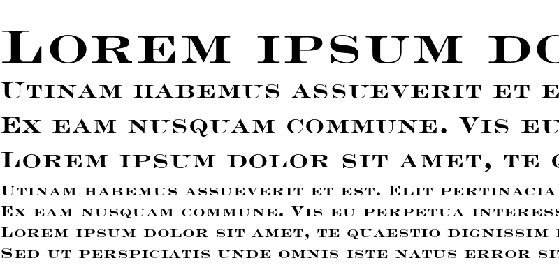 Sample of Engravers LT Std Bold Face