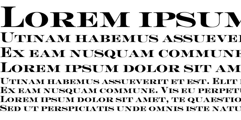 Sample of Engravers-Solid Regular