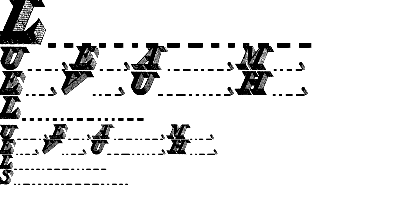 Sample of Engravier_Initials