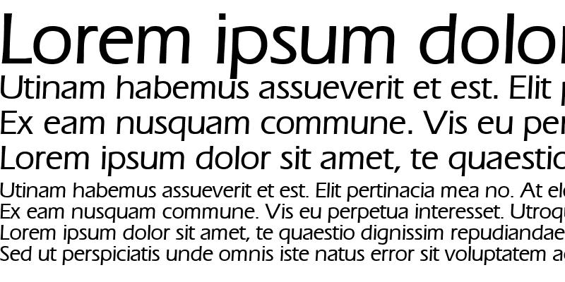 Sample of ErgoMedium