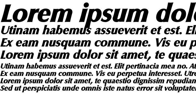 Sample of EricBecker-Heavy Italic