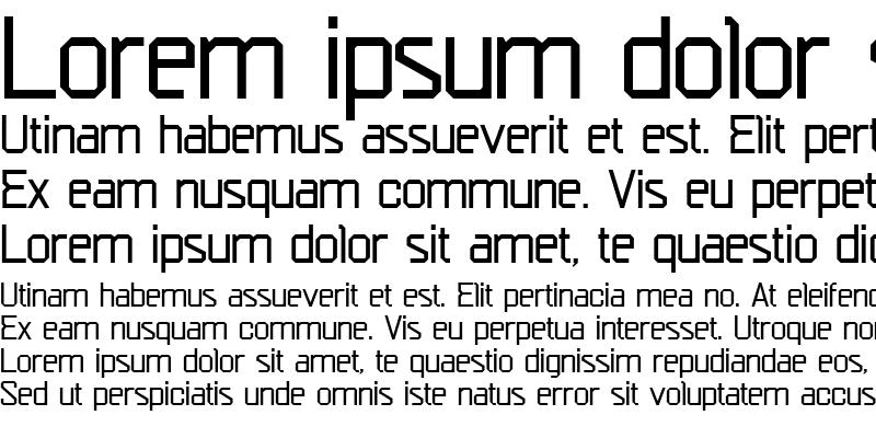 Sample of Escom-Regular