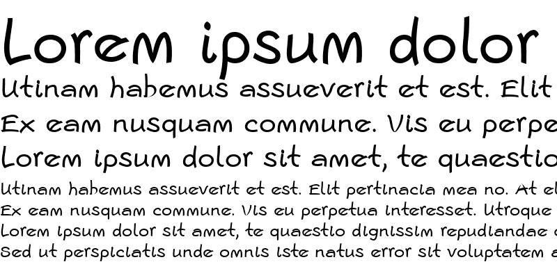 Sample of Escript LT Regular