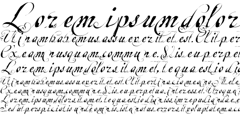 Sample of Escrita