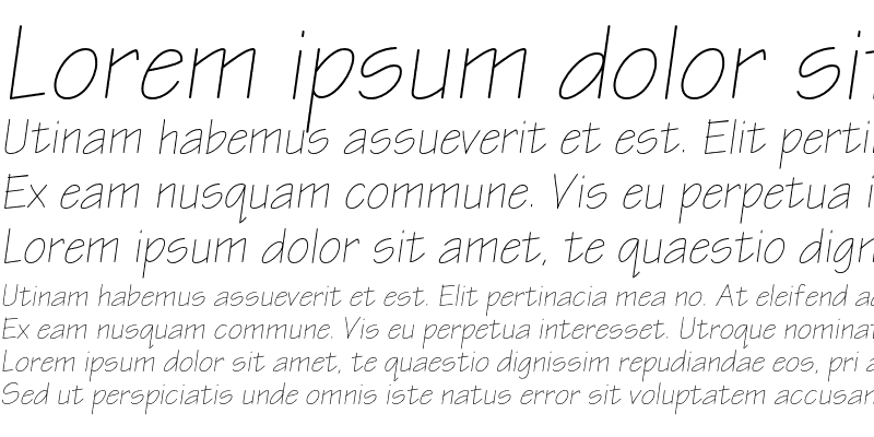 Sample of EskizTwoLightC Italic