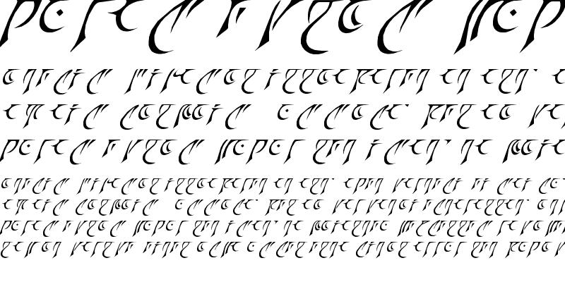 Sample of Espruar 3rd Edition Regular