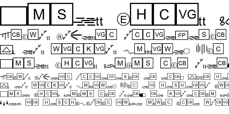 Sample of ESRI Caves 3 Regular