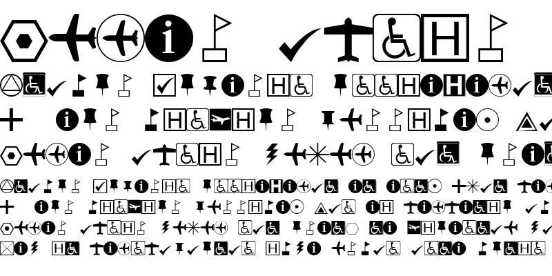 Sample of ESRI Default Marker Regular