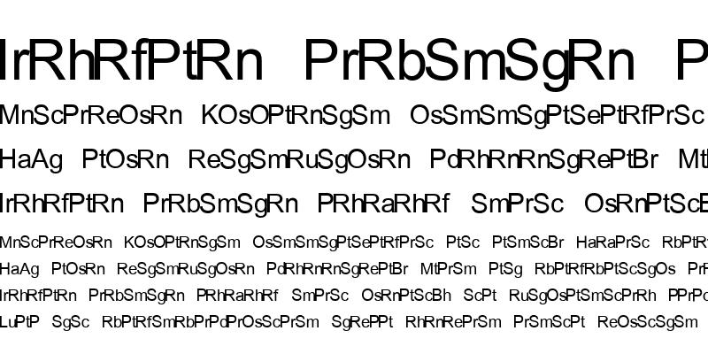 Sample of ESRI Elements