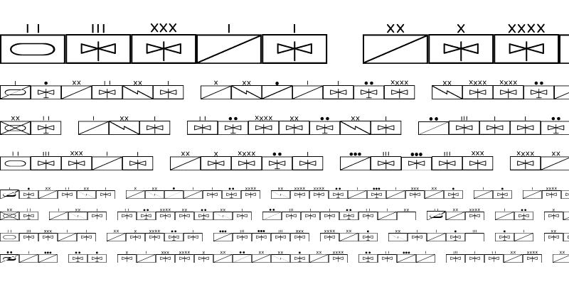 Sample of ESRI MilSym 01 Regular