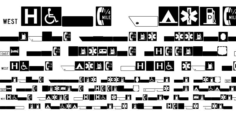 Sample of ESRI US MUTCD 3