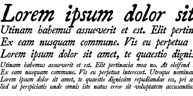 Sample of Essays1743 Italic