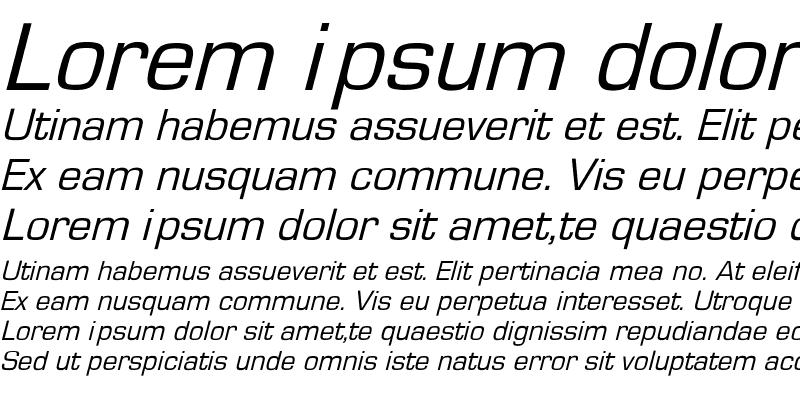 Sample of EurostileObl-No Regular