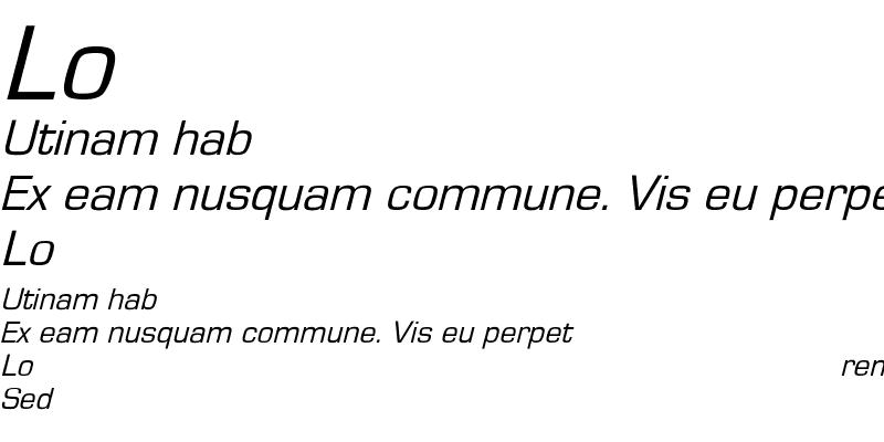 Sample of EurostileObl-Normal