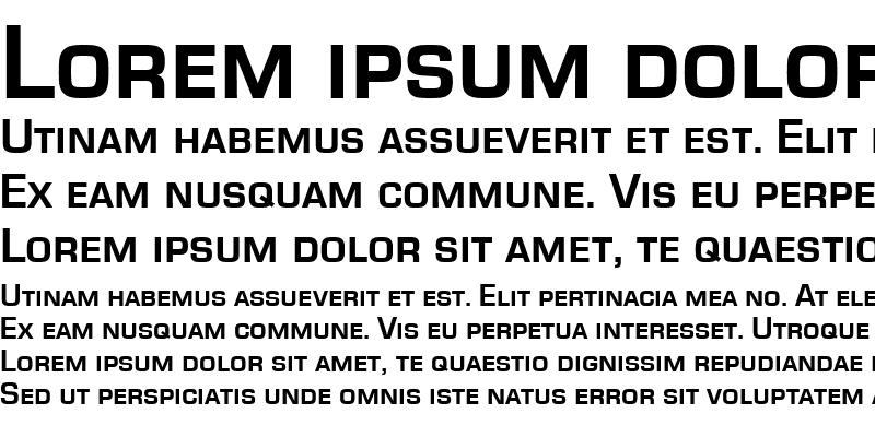 Sample of EurostileSCT Bold