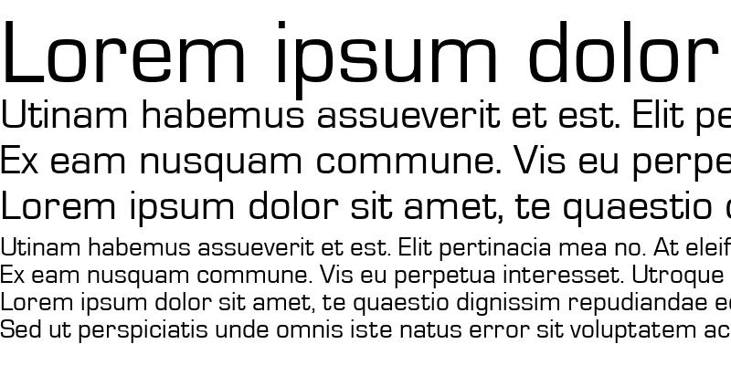 Sample of EurostileT