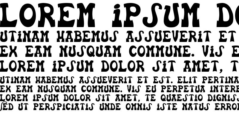 Sample of Euskal Font
