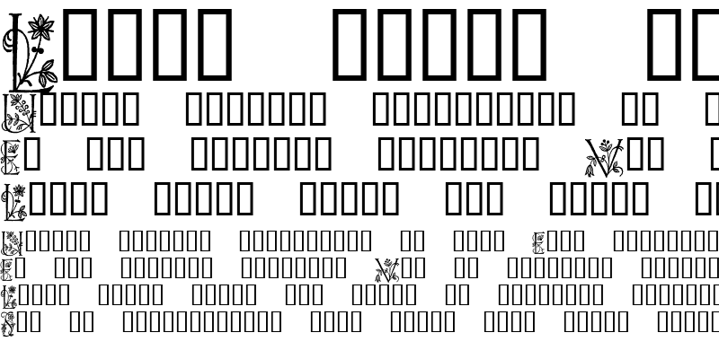 Sample of Eve Initials